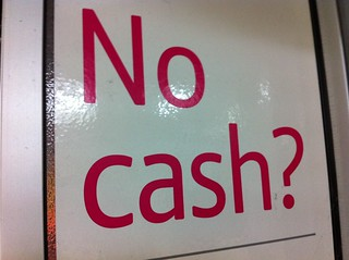 No cash? | by HowardLake