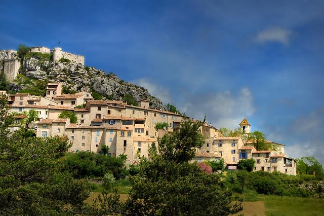 Le village - Trigance (Var)