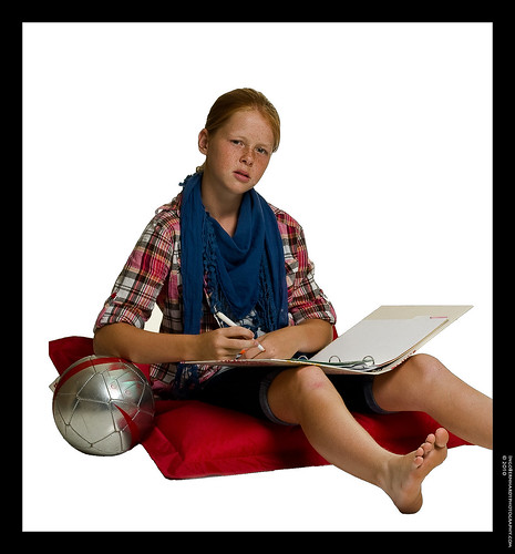 Young student with workbook   by Spree2010