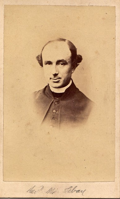 Rev. Septimus Tebay, English Albumen Carte de Visite, Circa 1860