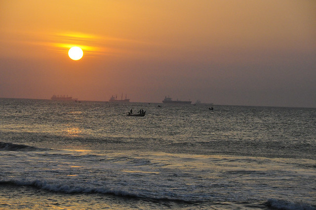 Sunrise....Marina Beach, Chennai
