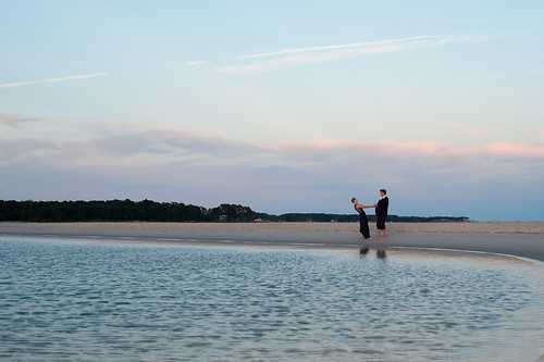 wedding sunset love water dance engagement couple va chesapeakebay deltaville