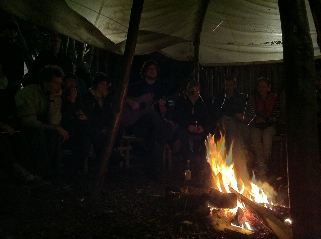 Around the campfire with The Gentle Good
