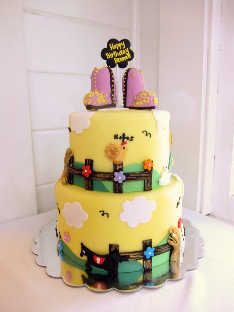 Super Cowgirl Birthday Cake Polkadots Olga Flickr Funny Birthday Cards Online Fluifree Goldxyz