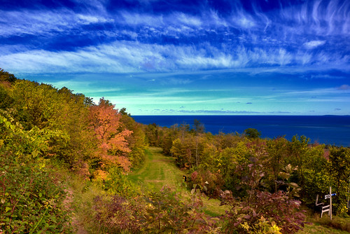 ontario fall collingwood hills hdr bluemountain