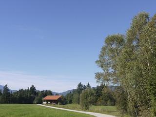 Dorf Village Bayern Upper Bavaria Germany Deutschland Europe Europa Gaißach Gaissach Oberland