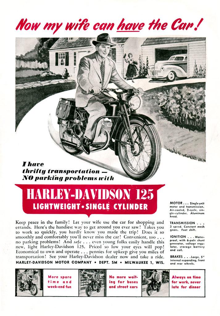 Harley Davidson (1948) | Denis Goulet | Flickr