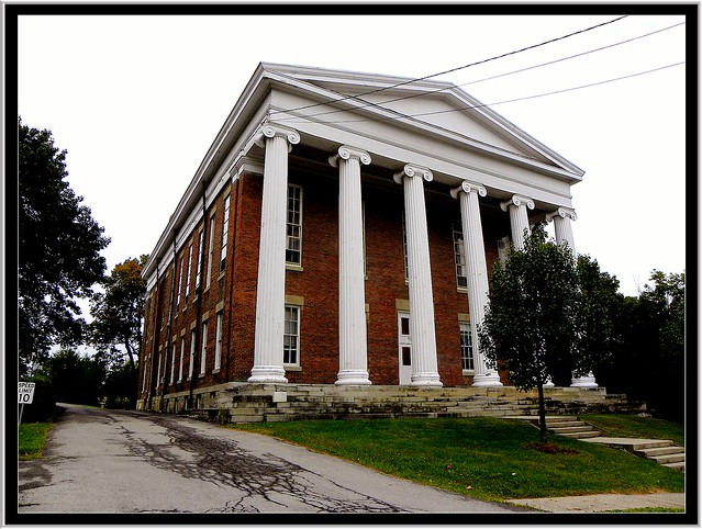 Lima NY ~ Genesee College Hall ~ Now Administration ~ Elim Bible Int.