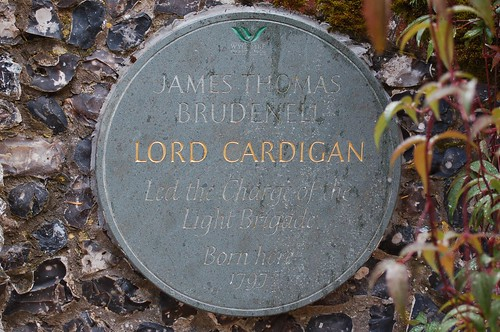 Lord-Cardigan-sign | by paratrooperbe
