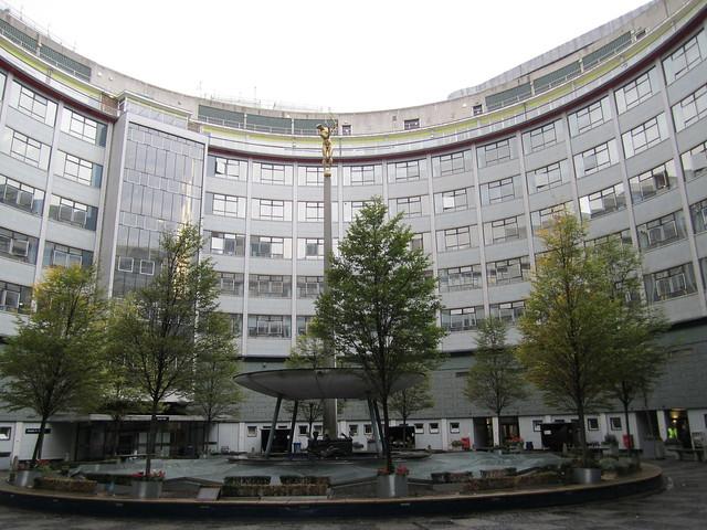 BBC Question mark studio building