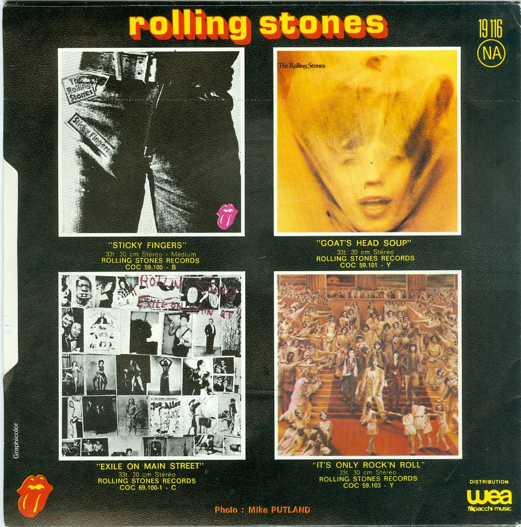 10 - Rolling Stones, The - Ain't Too Proud To Beg - F - 19