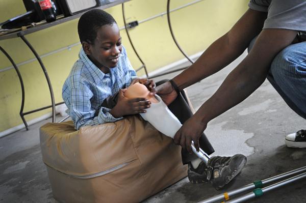 Healing Hands for Haiti Prosthetic Clinic 2010