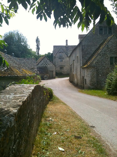 Ovetr the bridger to Bibury Mill | by Tip Tours