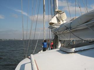 Tall ship race 2009 racing to saint petersburg