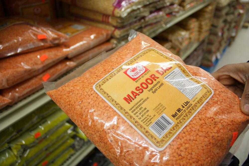 Masoor Dal   Masoor Dal=Red lentils  One of my favorites! Th