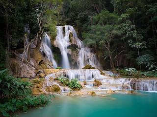Kuang Si Falls | by TeunJanssen