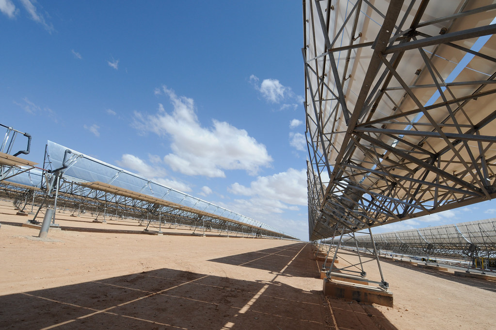 Thermo-solar power plant
