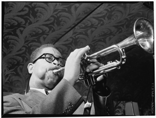 [Portrait of Dizzy Gillespie, New York, N.Y., ca. May 1947] (LOC) | by The Library of Congress