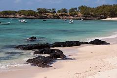Cotton Bay Hotel private beach, Rodrigues Island