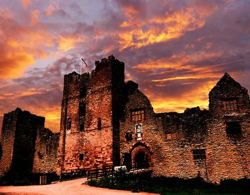 sunset castle shropshire ludlow supershot abigfave