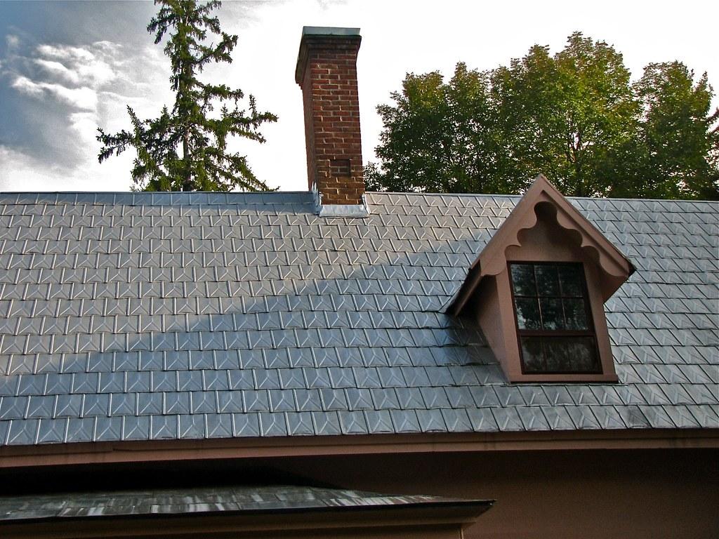 J.S. Morrill Homestead (1848-51) – pressed tin roofing & r…   Flickr