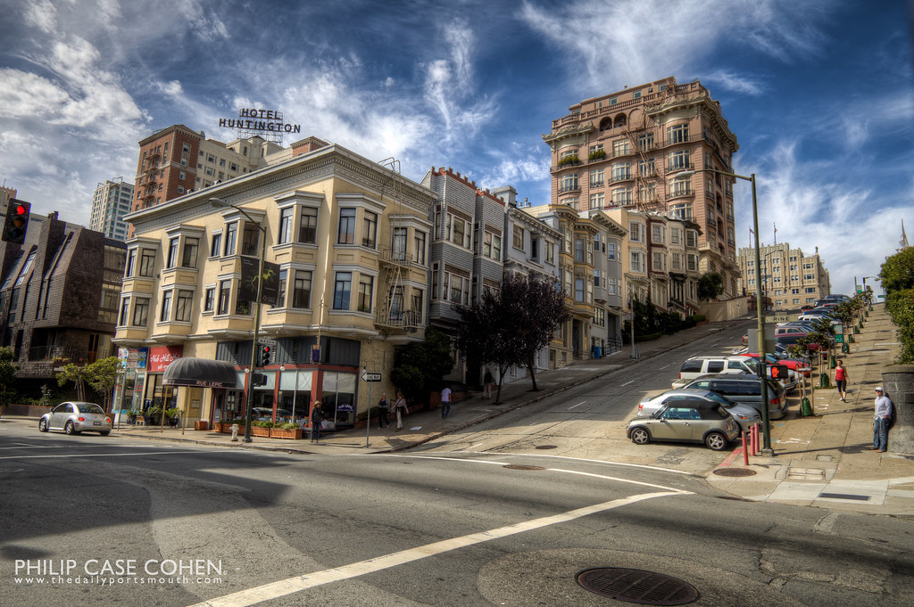 Hotel Huntington | Nob Hill San Francisco by Philip Case Cohen