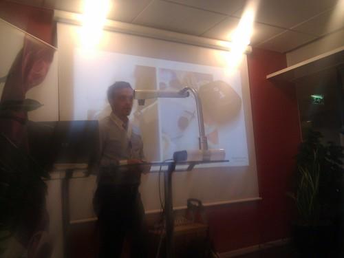 GTUG - Sony Ericsson presenting LiveView | by Johan Nilsson