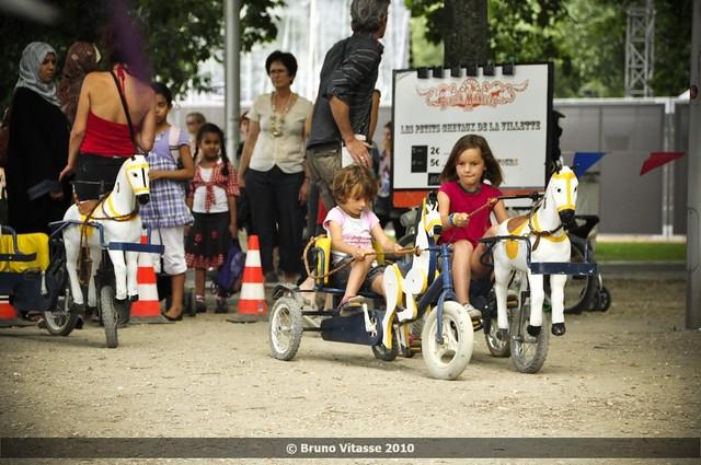 Un jour à la Villette... #04 (les petits chevaux de)