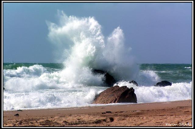 ★ Biarritz, la plage d'ilbarritz ~ Karim SAARI ©