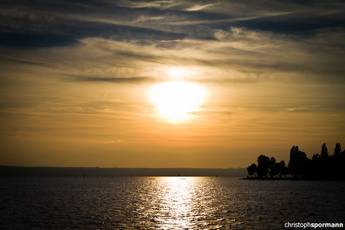 Sunset at Lake Constance | by .copy