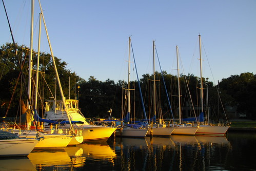 sunset sailboat mississippi sail pascagoula