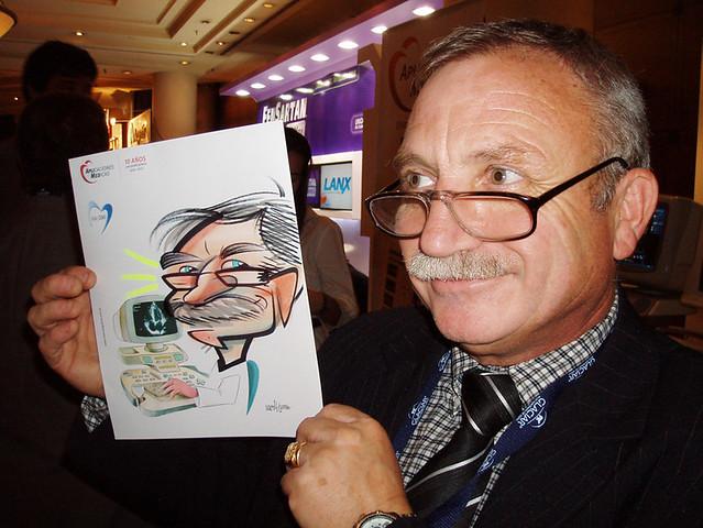 caricaturas  fiestas 2010