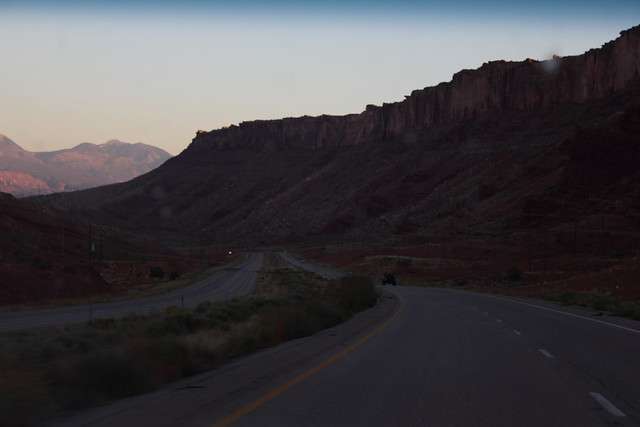 Utah Highway 191 - near Moab, Utah