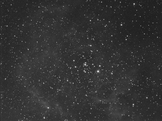 Single 20 min SII exposure Rosette Nebula