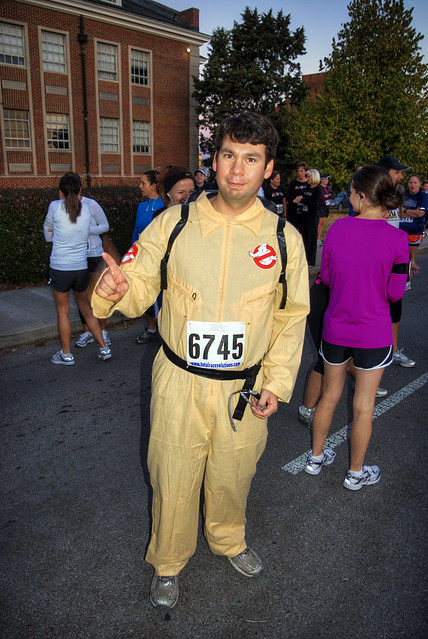 Ghostbuster marathon runner, Cookeville, TN