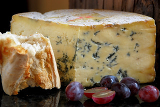Stilton, grapes and crusty bread | by Pixies and Pixels