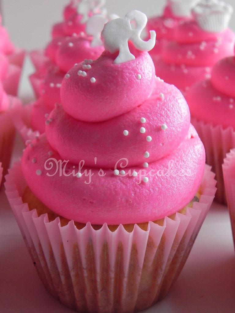 Miraculous Barbie And Cupcakes Toppers Milys Cupcakes Flickr Personalised Birthday Cards Beptaeletsinfo