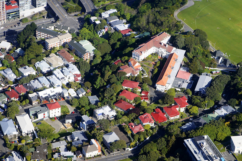 Aerial View of Everton Hall and Weir House | Can you spot my