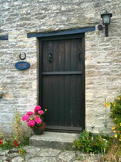Lavender Cottage doorway in Minster Lovell Village | by Tip Tours