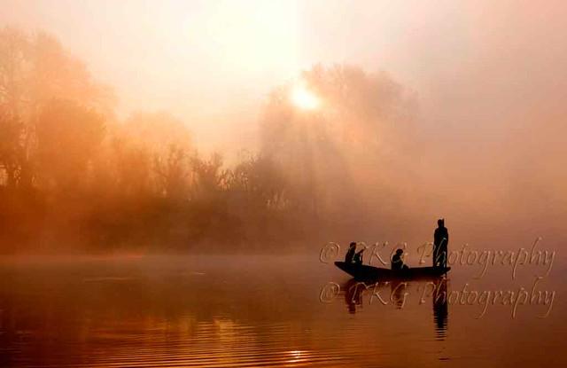 Fishing in Jhelum... Winters Early Morning Kashmir