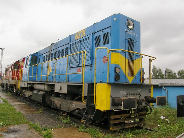 NZTK T448p-020 , Sosnowiec Jęzor locomotive shops 27.07.2010