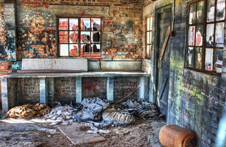 Fort Cumberland - Abandoned Barrack Block   by Hexagoneye Photography
