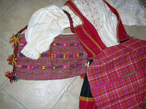 Woman's Ensemble, Zadrima, Albania