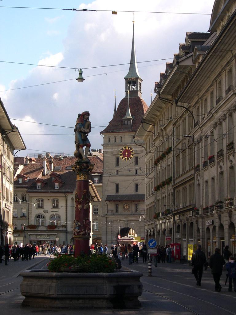 Bern Zentrum apres midi