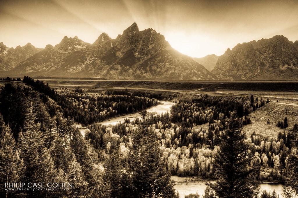 Snake River | Grand Teton by Philip Case Cohen