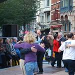 Tango op het Sint-Baafsplein
