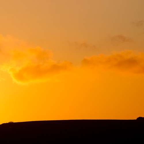Solsbury Hill - Ridge and Sunset | by J e n s