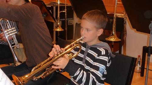 Stadsorchestra rehearsal