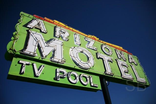 Arizona Motel TV Pool