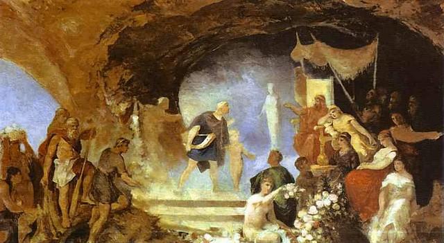 +1885 Orfeo con Hades